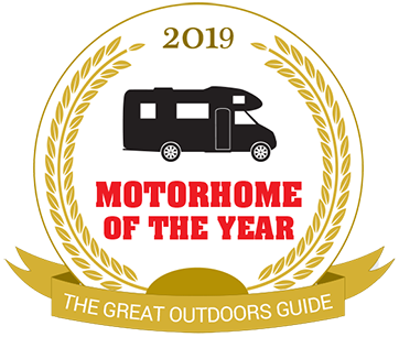 Motorhome of the year - The Great Outdoors Guide